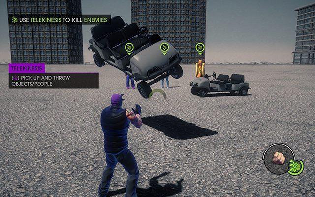 Test Telekinezy - #7 - Ghost In The Machine - Opis przejścia - Saints Row IV - poradnik do gry