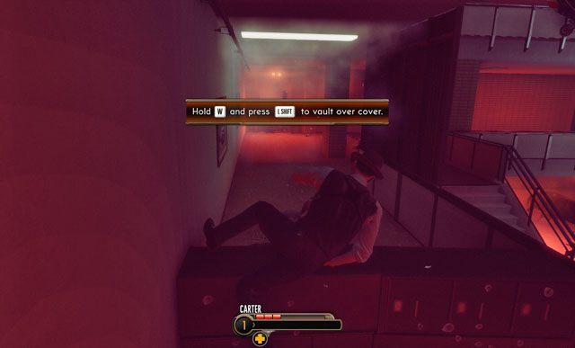 Niskie przeszkody można przeskakiwać. - 1 - Inwazja! - Misje - The Bureau: XCOM Declassified - poradnik do gry