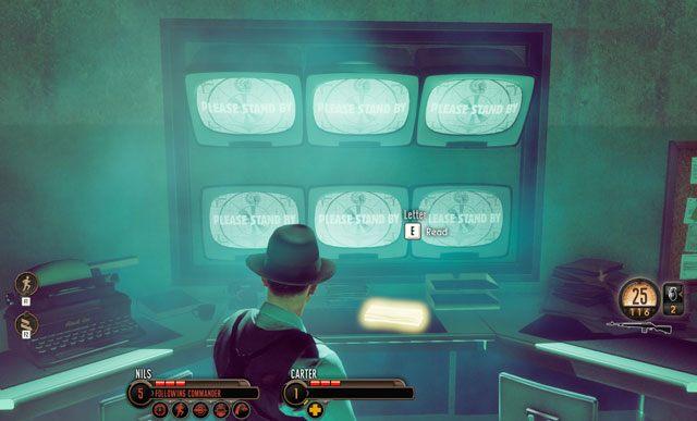 List zostawiono zaraz przy monitorach. - 1 - Inwazja! - Misje - The Bureau: XCOM Declassified - poradnik do gry