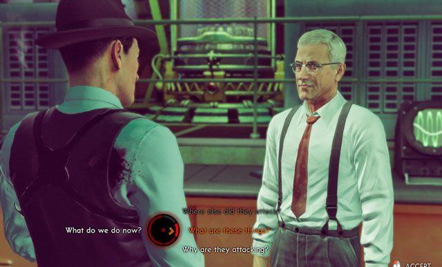 Wybory dokonywane podczas tej rozmowy nie mają żadnego znaczenia. - 1 - Inwazja! - Misje - The Bureau: XCOM Declassified - poradnik do gry