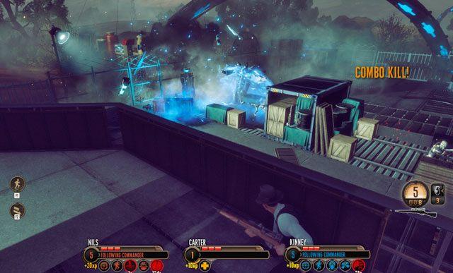 Sprawny ostrzał artyleryjski błyskawicznie kończy starcie. - 1 - Inwazja! - Misje - The Bureau: XCOM Declassified - poradnik do gry