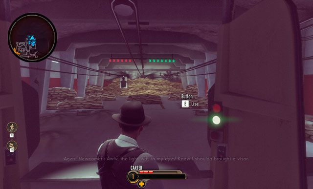 Na strzelnicy możesz poćwiczyć swoje umiejętności. - 1 - Wizyta w bazie I - Witamy w XCOM - Misje - The Bureau: XCOM Declassified - poradnik do gry