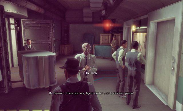 Dr. Dresner ma za sobą nieciekawą przeszłość. - 1 - Wizyta w bazie I - Witamy w XCOM - Misje - The Bureau: XCOM Declassified - poradnik do gry