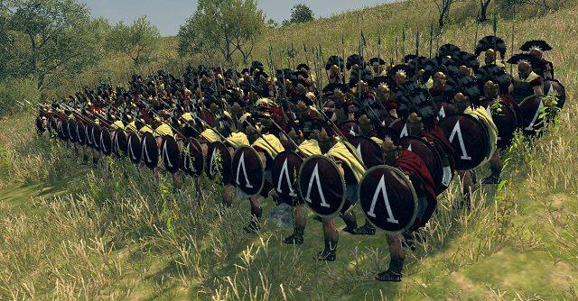 Piechota ta została wyposażona w kilkumetrowe piki, które to mogą być wykorzystane do stworzenia falangi - Jednostki lądowe - Wojsko - Total War: Rome II - poradnik do gry