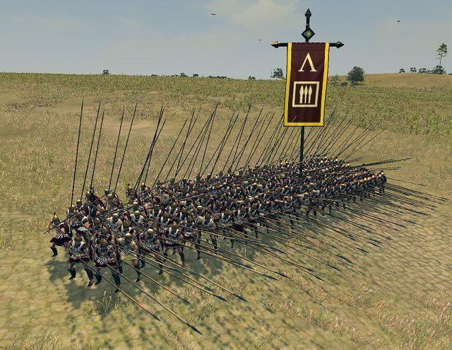 Formacja ta uzbrojona jest w broń białą, taką jak topory czy miecze - Jednostki lądowe - Wojsko - Total War: Rome II - poradnik do gry