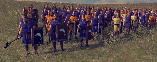 Ta wyposażona w broń dystansową piechota służy nękaniu oddziałów przeciwnika ciągłymi atakami - Jednostki lądowe - Wojsko - Total War: Rome II - poradnik do gry