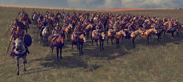 Ciężka kawaleria, zdolna zniszczyć nawet średnio opancerzone oddziały piechoty wroga - Jednostki lądowe - Wojsko - Total War: Rome II - poradnik do gry