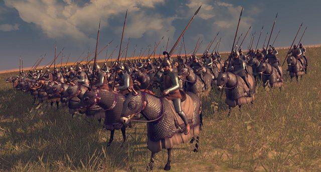 Podobnie jak piechota miotająca, kawaleria ta wyposażona jest w broń służącą do walki na dystans - Jednostki lądowe - Wojsko - Total War: Rome II - poradnik do gry