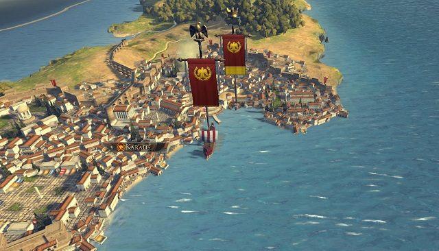 Transport armii droga morską jest niewymagający - Flota, transport drogą morską - Wojsko - Total War: Rome II - poradnik do gry