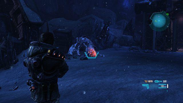 Po rozmowie z Laroche'm pojawią się 2 nowe potwory - Misja 1 - Uratuj Larochea - Opis przejścia - Lost Planet 3 - poradnik do gry