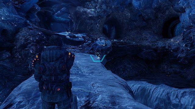 Po dojściu do krawędzi użyj haka i idź dalej - Misja 2 - Pierwszy posterunek termalny - Opis przejścia - Lost Planet 3 - poradnik do gry