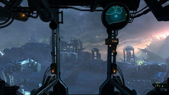 Malowniczy widok na Skrzyżowaniu Baileya. - Misja 3 - Stacja przekaźnikowa - Opis przejścia - Lost Planet 3 - poradnik do gry