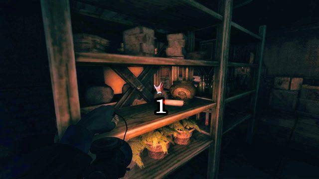 Idź przed siebie, a potem jednym z wejść po lewej i schodami na górę - Kościół - Amnesia: A Machine for Pigs - poradnik do gry