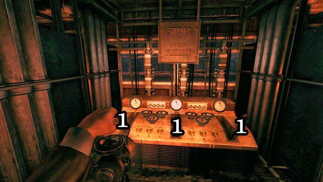 Po uruchomieniu wszystkich pieców wróć do pomieszczenia kontrolnego - Fabryka - Amnesia: A Machine for Pigs - poradnik do gry