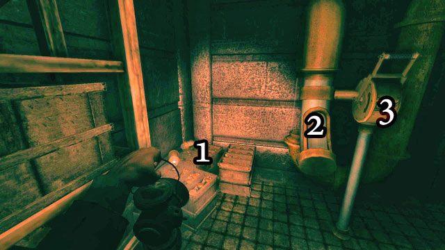 Wejdź po schodach i skręć w lewo - Mieszacz płynów - Amnesia: A Machine for Pigs - poradnik do gry