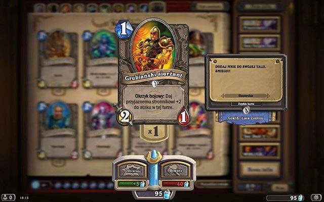 Okrzyk bojowy jest zdolnością aktywowaną od razu po wystawieniu danej karty na stół - Okrzyk bojowy   Zdolności - Hearthstone: Heroes of Warcraft - porady i polecane decki