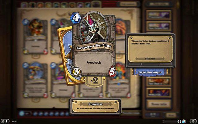 Zdolność Prowokacja jest bardzo przydatnym efektem, działającym na zasadzie absorbującej obrażenia tarczy - Prowokacja   Zdolności - Hearthstone: Heroes of Warcraft - porady i polecane decki