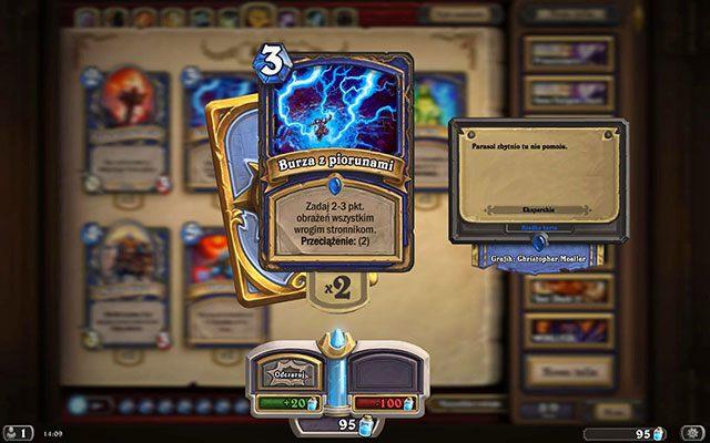 Przeciążenie jest negatywną zdolnością, która zmniejsza ilość dostępnej many o liczbę podaną w opisie karty - Przeciążenie | Zdolności - Hearthstone: Heroes of Warcraft - porady i polecane decki