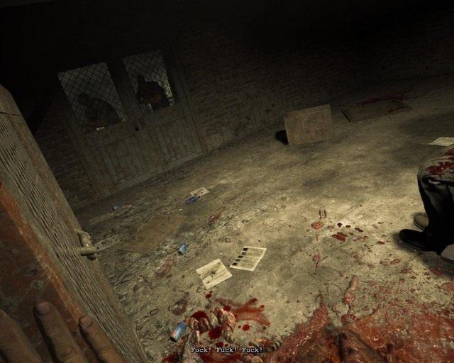 Pamiętaj o zastawianiu drzwi metalowymi szafkami podczas ucieczki - Male Ward - Solucja - Outlast - poradnik do gry