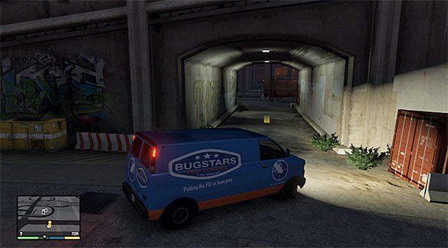 Miejsce pozostawienia furgonetki - 14 - Środek na owady | Wątek główny - GTA V - poradnik do gry