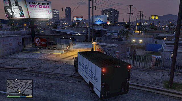 Miejsce zakończenia misji - 16 - Robótka u jubilera - wariant sprytny (Smart) | Wątek główny - GTA V - poradnik do gry