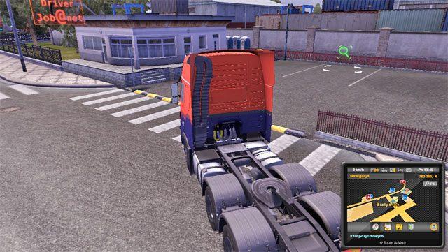 Do agencji pracy możesz przyjechać, ale możesz także skorzystać z niej z panelu sterowania firmą - Agencje pracy - Euro Truck Simulator 2: Going East! Ekspansja Polska - poradnik do gry
