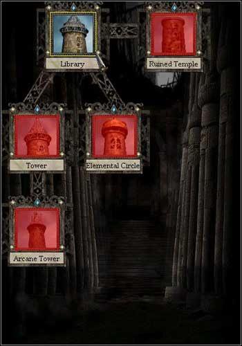 Standardowy zestaw - Imperium - Bohaterowie, Wojownicy, Magowie - Disciples II: Mroczne Proroctwo - poradnik do gry
