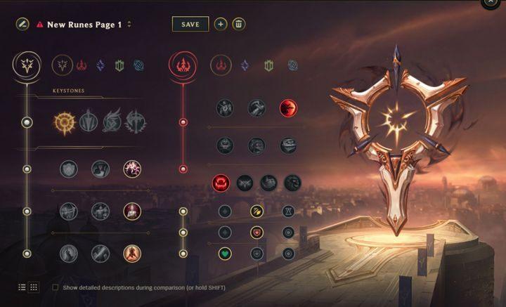 League of Legends - normalny system dobierania graczyrandki ze starymi krzesłami bujanymi