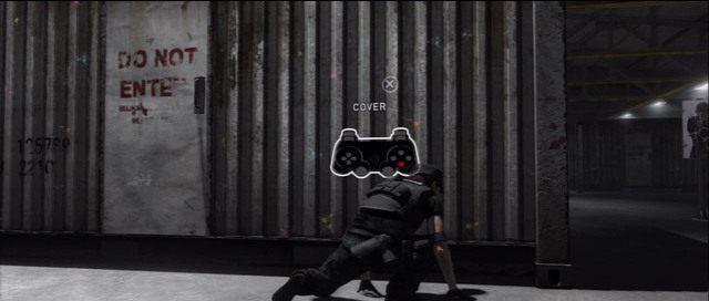 Przycisk X służy do przyklejania się do osłon - Witamy w CIA | Solucja Beyond Dwie Dusze - Beyond: Dwie Dusze - poradnik do gry