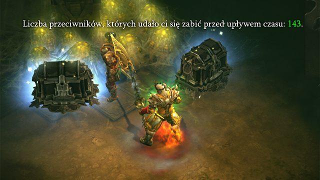 W wymaganym czasie zabiłem co najmniej 100 wrogów. W nagrodę otrzymałem drugą skrzynię. - Zlecenia | Opis mechanizmów rozgrywki - Diablo III: Reaper of Souls - poradnik do gry