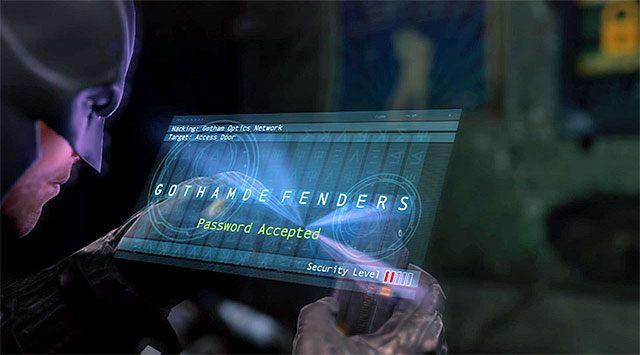 Wybierz wschodnie drzwi, docierając do wejścia do piwnicy [Basement Access] - Zabierz zakłócacz z magazynu dowodów - Główny wątek - Batman: Arkham Origins - poradnik do gry