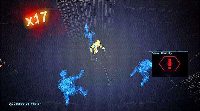 Warto zaatakować strażników więziennych z zaskoczenia - Zabierz zakłócacz z magazynu dowodów - Główny wątek - Batman: Arkham Origins - poradnik do gry