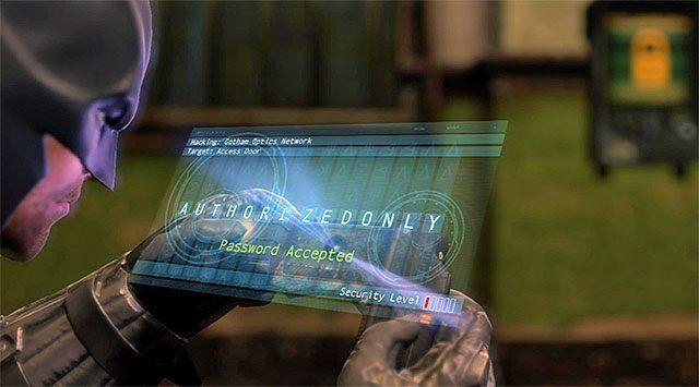 Użyj haka, by dotrzeć na górne balkoniki [Cell Block Access] i wznów przemarsz przez piwnicę posterunku policji - Uzyskaj dostęp do serwerów policji - powrót do serwerowni - Główny wątek - Batman: Arkham Origins - poradnik do gry
