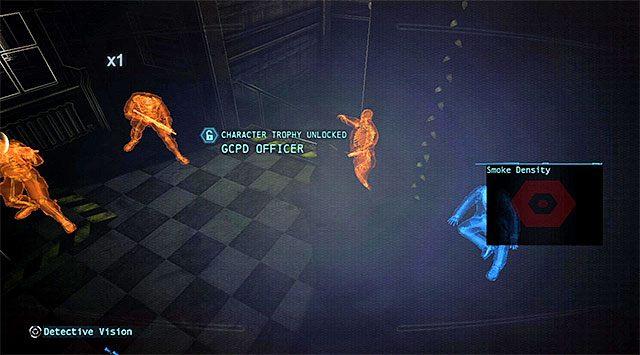 Szybko zaatakuj oślepionych wrogów - Ucieknij z komisariatu policji - Główny wątek - Batman: Arkham Origins - poradnik do gry