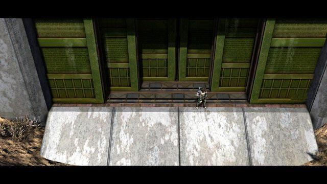 Wejście do Twierdzy Strażników. - Ważne miejsca | Eksploracja - Wasteland 2 - poradnik do gry
