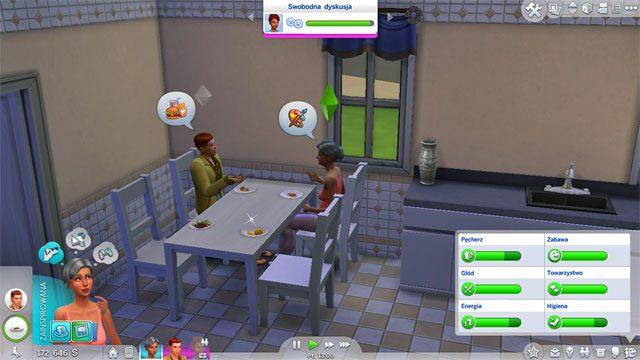 Simowie muszą jeść - Potrzeby | Życie Sima w Sims 4 - The Sims 4 - poradnik do gry