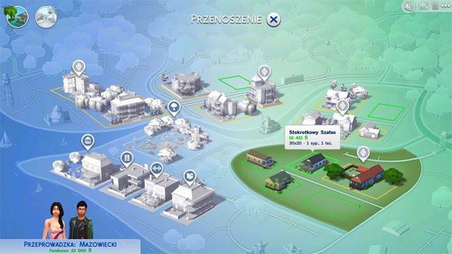 Gdy już stworzysz swoją rodzinę, musisz ją gdzieś zamieszkać - Wprowadzenie rodziny - Dom Sima - The Sims 4 - poradnik do gry