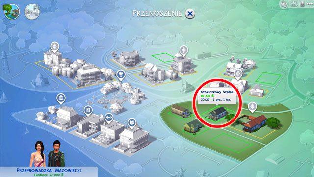 Możesz także wybrać jeden z dostępnych domów - Wprowadzenie rodziny - Dom Sima - The Sims 4 - poradnik do gry