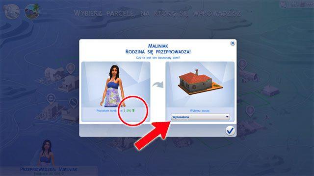 Po wybraniu domu możesz dokonać jeszcze jednego wyboru - Wprowadzenie rodziny - Dom Sima - The Sims 4 - poradnik do gry