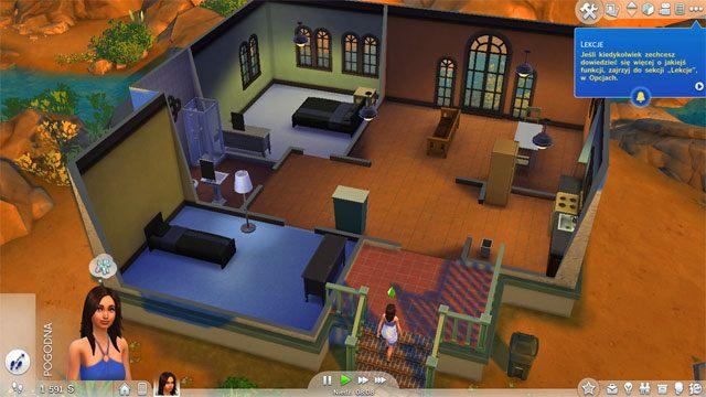 Zasadniczo otrzymujesz tu od razu umeblowany dom z podstawowymi, koniecznymi do egzystencji meblami i urządzeniami - Wprowadzenie rodziny - Dom Sima - The Sims 4 - poradnik do gry