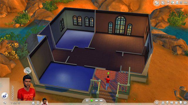 Dom nie będzie w stanie surowym - Wprowadzenie rodziny - Dom Sima - The Sims 4 - poradnik do gry