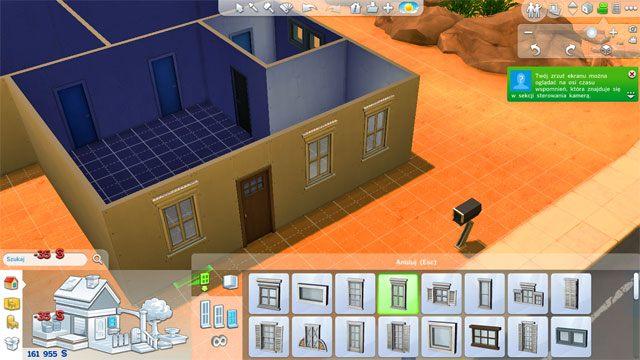 Wpuść trochę światła do pomieszczeń - zakup okna - Budowanie domu - Dom Sima - The Sims 4 - poradnik do gry