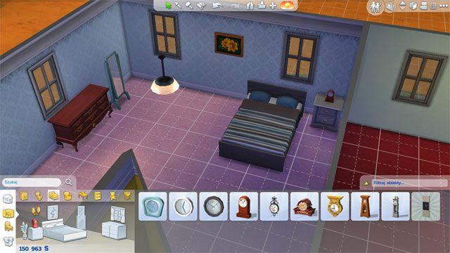 W sypialni kluczowy obiekt to łóżko - im droższe tym lepsze - Urządzanie domu | Dom Sima - The Sims 4 - poradnik do gry