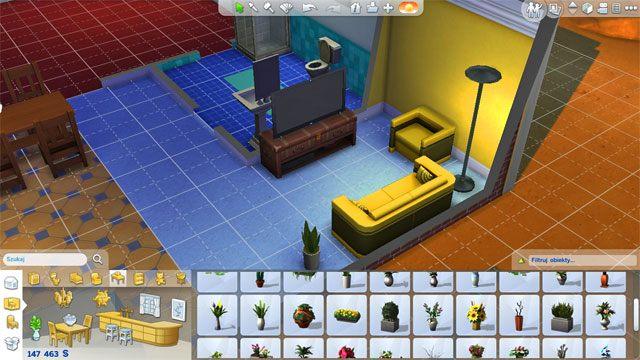 Tutaj potrzebujesz kanapę lub fotel - Urządzanie domu | Dom Sima - The Sims 4 - poradnik do gry