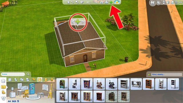 Budując dom początkowo możesz nie przewidzieć dokładnie jak w przyszłości będziesz chciał go rozbudowywać - Rozbudowa domu | Dom Sima - The Sims 4 - poradnik do gry