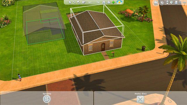 Następnie wybierz nowe miejsce docelowe umieszczenia domu, zatwierdź i gotowe - Rozbudowa domu | Dom Sima - The Sims 4 - poradnik do gry
