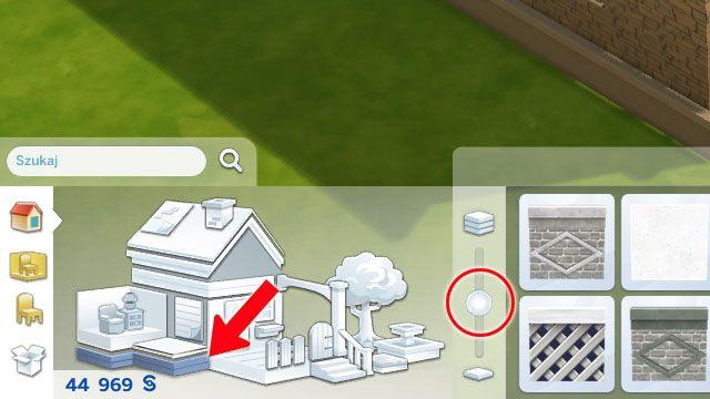 Aby dodać budowli nieco więcej klasy możesz dobudować fundamenty - Rozbudowa domu | Dom Sima - The Sims 4 - poradnik do gry