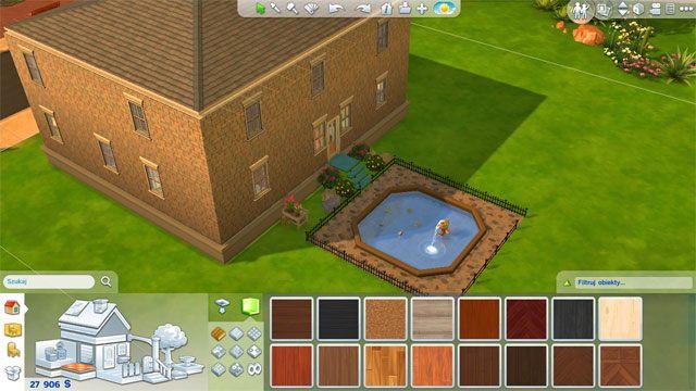Na koniec nie zapomnij o dachu - wcześniej go usunąłeś, więc teraz należy stworzyć go raz jeszcze - Rozbudowa domu | Dom Sima - The Sims 4 - poradnik do gry