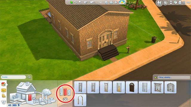 Zwiększenie wysokości ścian daje Ci dostęp do wyższych drzwi - Rozbudowa domu | Dom Sima - The Sims 4 - poradnik do gry