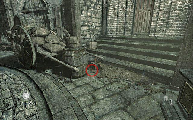 Wspomniany wyżej dokument to nie jedyne cenne znalezisko - Pierwsza część podróży do wieży zegarowej - Rozdział 1 (Blokada - Lockdown) - Thief - poradnik do gry